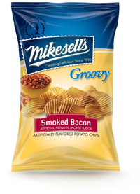 Mesquite Smoked Bacon Groovy Potato Chips