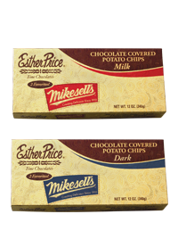 Mikesell's & Esther Price Chocolate Covered Potato Chips