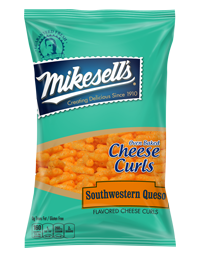 Southwestern Queso Cheese Curls