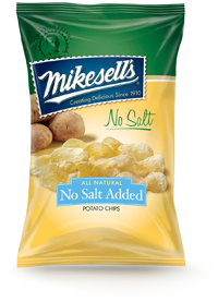 No Salt Added Potato Chips