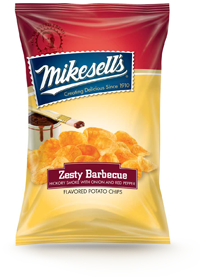 Zesty Barbecue Potato Chips